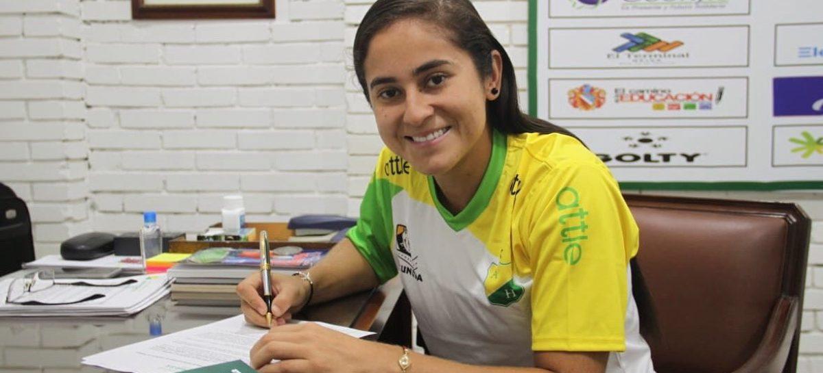 La rionegrera Carolina Arbeláez es nueva jugadora de Atlético Huila