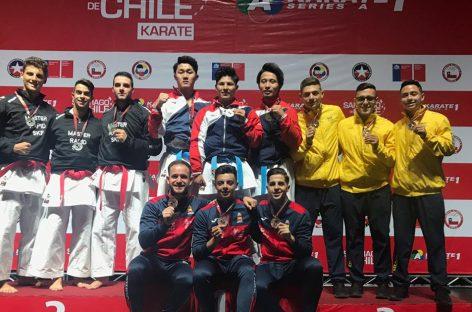 Karatecas de Marinilla ganaron bronce en Chile