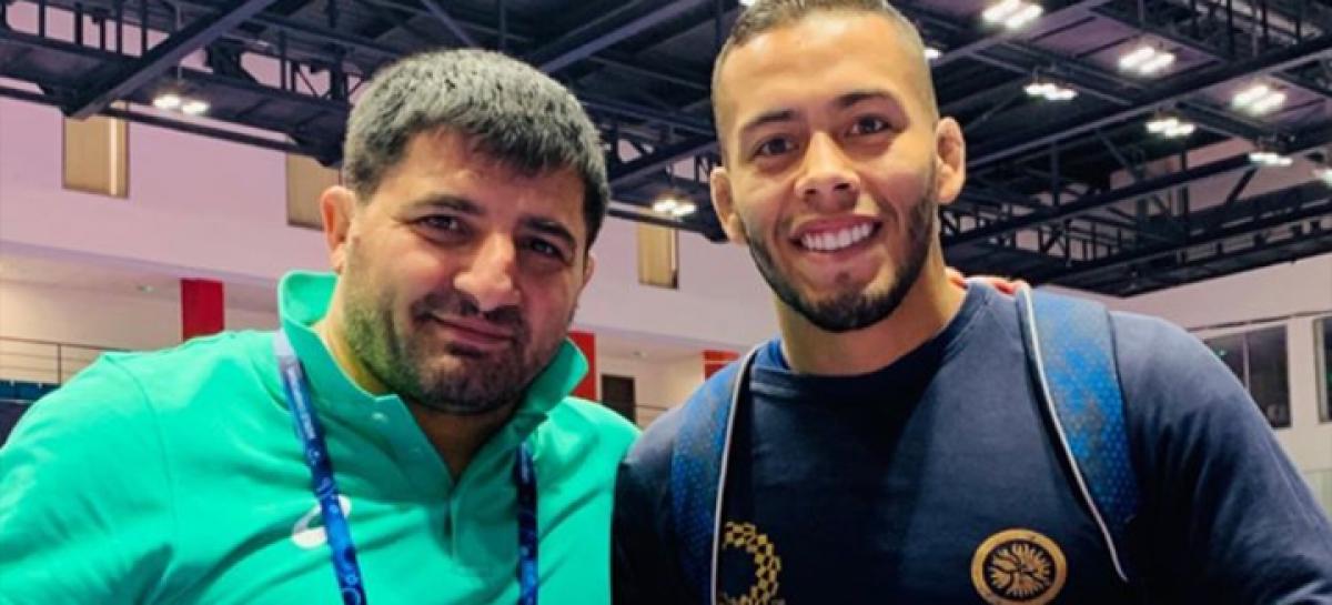Dicther Hans Toro está listo para disputar el Mundial de Lucha en Kazajistán