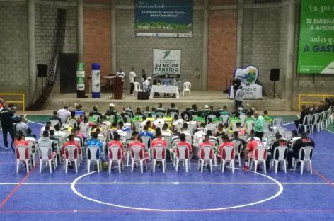19 goles se marcaron en el primer día del Torneo Nacional de Fútbol de Salón