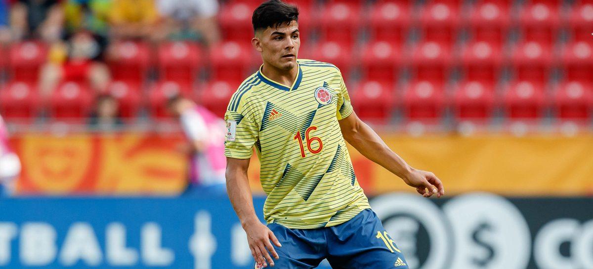 Brayan Vera fue convocado a la Selección Colombia Sub-23