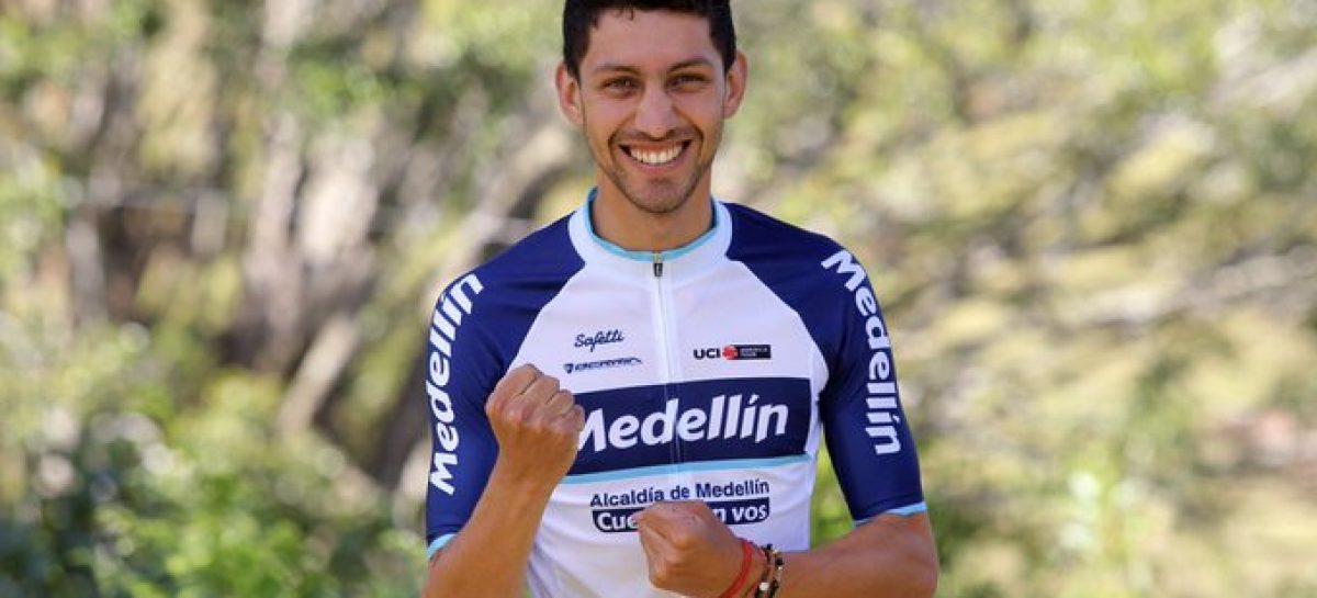 Walter Vargas, el mejor colombiano en la primera etapa del Tour de Taihu Lake