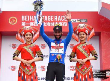 Fernando Gaviria ganó la primera etapa del Tour de Guangxi