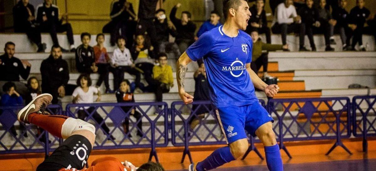 Wilmar Ramírez inició con pie derecho la temporada en el Beaucaire Futsal