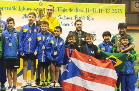 Tenimesistas de Rionegro y Guarne ganaron medallas en Puerto Rico