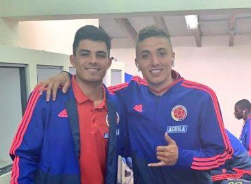 Brayan Vera y Juan Pablo Ramírez, destacados con la Selección Colombia Sub-23