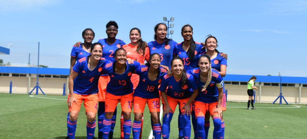 Sara Sofía Martínez fue protagonista en el empate de Colombia ante Argentina