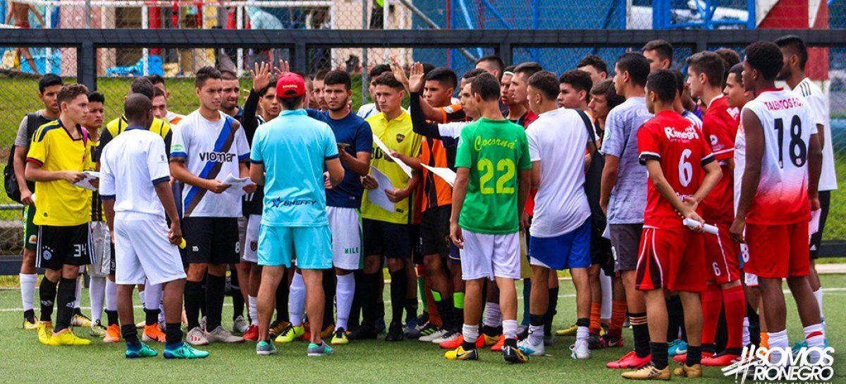Cientos de jóvenes del Oriente sueñan con pertenecer a Rionegro Águilas