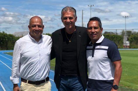 Carlos Queiroz visitó los campos de entrenamiento del Oriente Antioqueño
