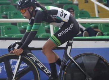 Ciclista de La Unión ganó medalla de plata en el Ómnium Femenino