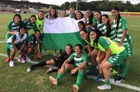 Baño dorado para Sara Sofía Martínez con la Selección Antioquia de Fútbol