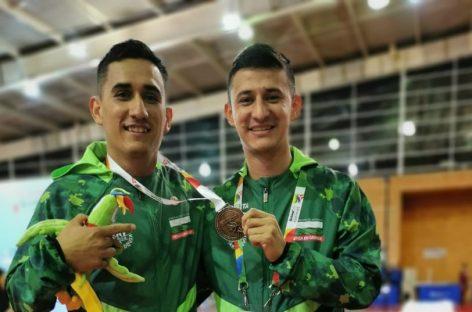 Sebastián Berrío se colgó la medalla de bronce en Esgrima en silla de ruedas