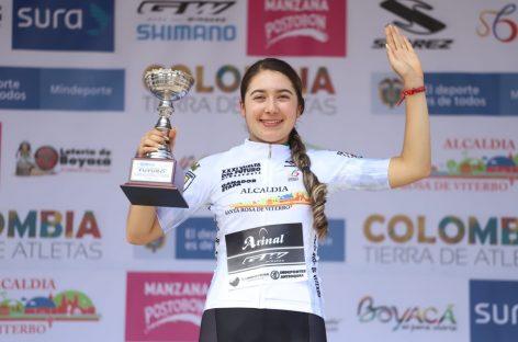 Carolina Vargas ganó la primera etapa de la Vuelta del Futuro