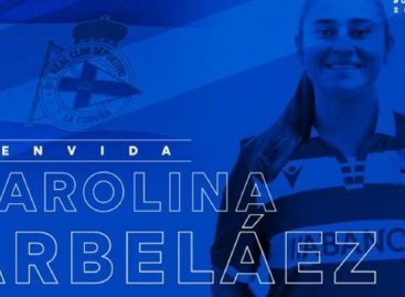 La rionegrera Carolina Arbeláez jugará en el fútbol español