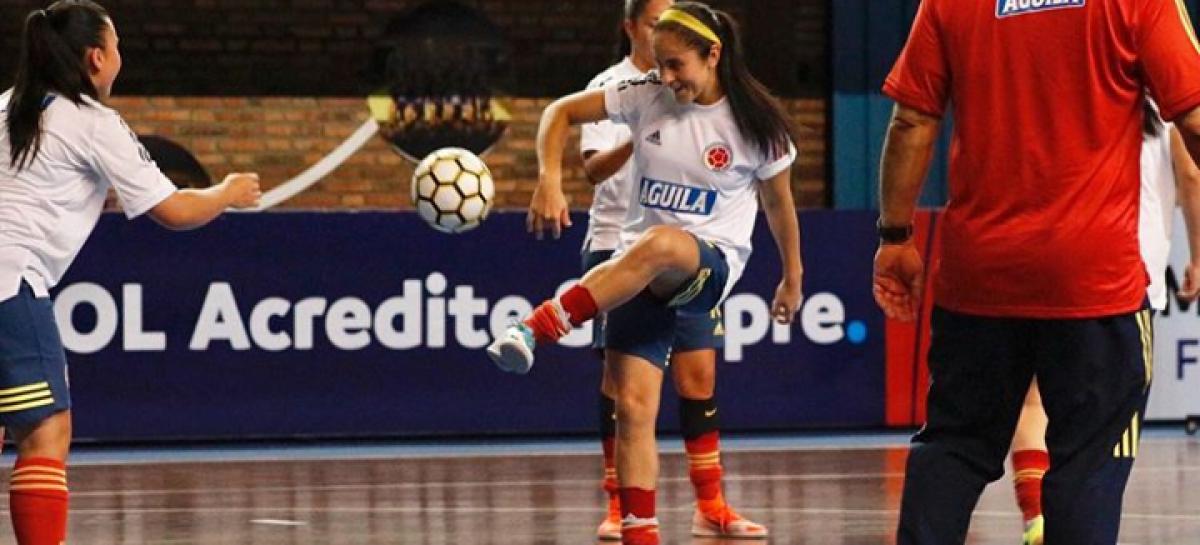 Destacada participación de Carolina Arbeláez en la Copa América de Futsal