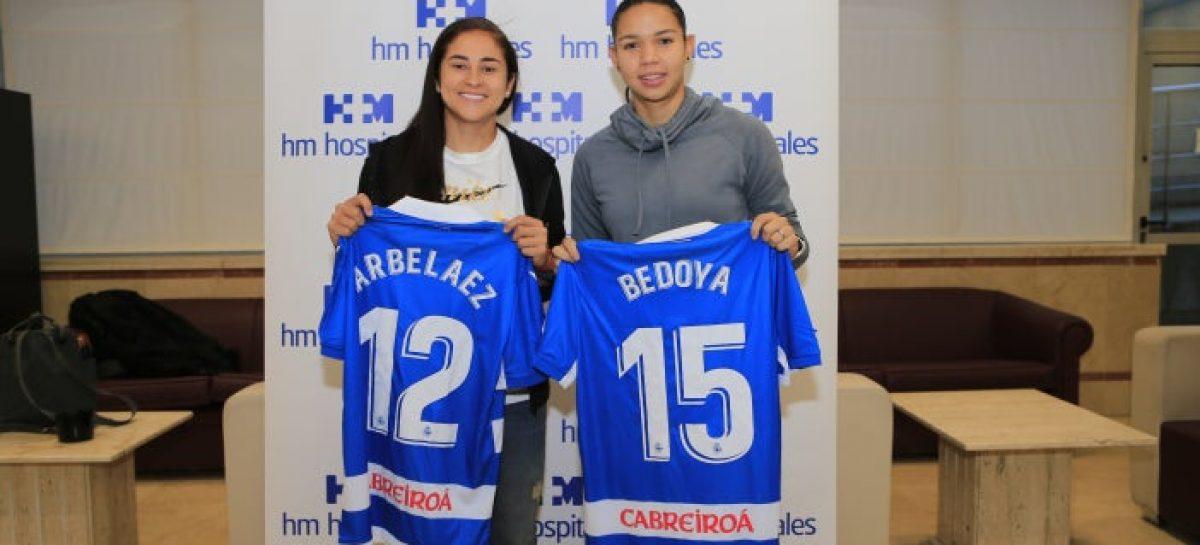 Carolina Arbeláez fue presentada oficialmente por su nuevo equipo en España