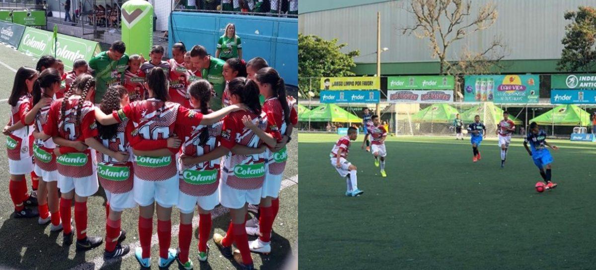 Victoria y empate para Rionegro en el inicio del Festival Baby Fútbol