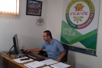 """""""Soñaba con estar aquí y se dio"""": Giovanni Osorio, gerente del Incerde"""