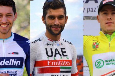 Vargas, Gaviria y Hernández: los representantes del Oriente en la Vuelta a San Juan