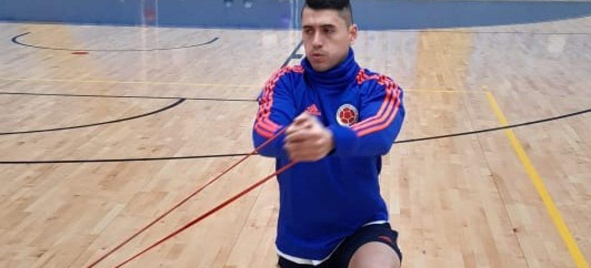 Wilmar Ramírez, a un partido de clasificar al Mundial de Futsal con Colombia