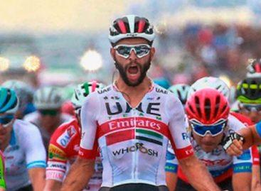 El cejeño Fernando Gaviria ganó una etapa más de la Vuelta a San Juan en Argentina
