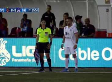 Buen debut para Yeison 'El Cachi' González en el fútbol de Panamá