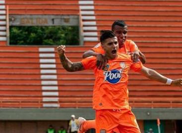 Yeison Guzmán, figura con Envigado en la Liga BetPlay