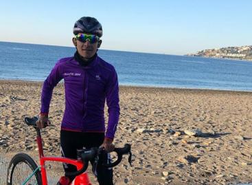 Juan Felipe Osorio, el unitense que cambió los guayos por la bicicleta