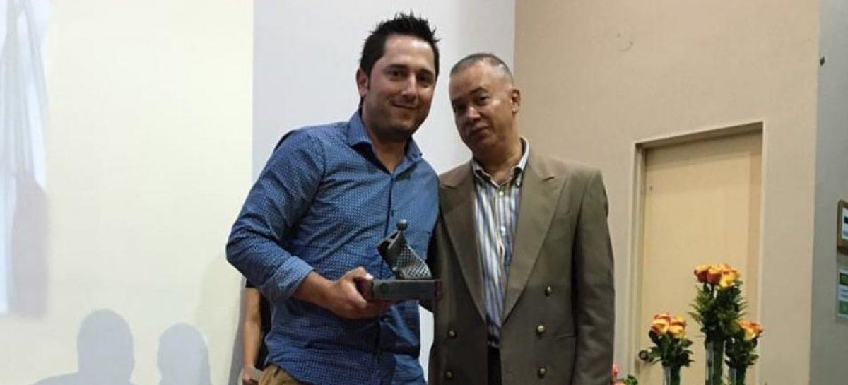 Entrenador de Tenis de La Ceja está nominado al premio Malla de Oro por sexta vez