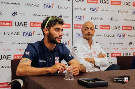 """""""La evolución de Fernando es muy positiva"""": Director deportivo del UAE Team Emirates"""