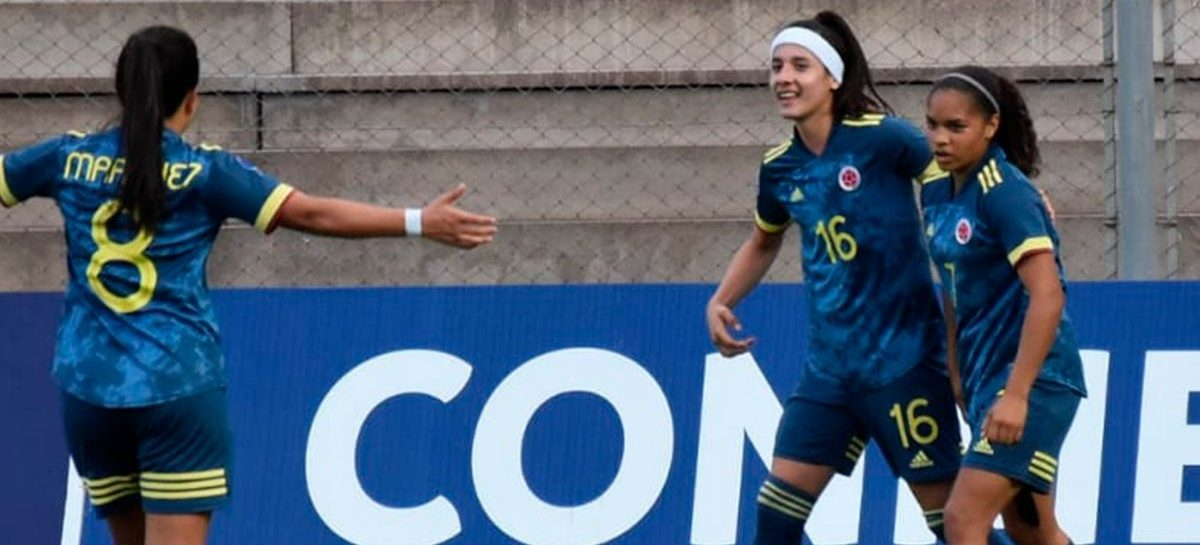 Sara Sofía Martínez, titular en la victoria de Colombia ante Ecuador en el Sudamericano Sub 20
