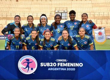 La Selección Colombia Femenina clasificó al cuadrangular final del Sudamericano Sub 20