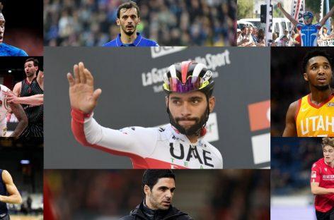 Estos son los deportistas que han dado positivo por Coronavirus
