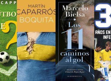 ¡11 libros de fútbol que seguro te encantarán!