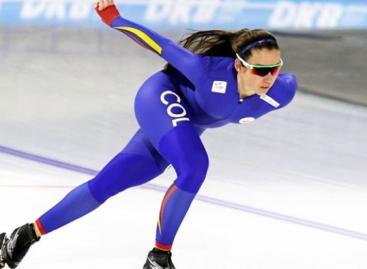 Laura Gómez está lista para rodar sobre el hielo en Estados Unidos