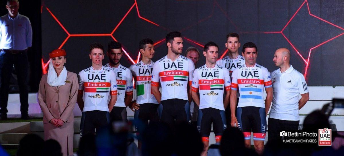 Seis ciclistas del UAE Team Emirates tendrían coronavirus, entre ellos un colombiano