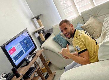 Brayan Fernández es finalista del Torneo Virtual del Fútbol Colombiano