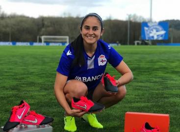 """""""Ha sido difícil estar lejos de mi familia"""": Carolina Arbeláez, jugadora del Deportivo La Coruña"""