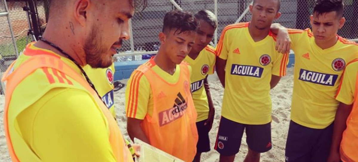 Copa América y Eliminatorias: los retos que afrontará la Selección Colombia de Fútbol Playa