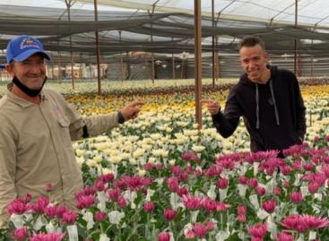Visita y regalos: el buen gesto de Rigo con Don Iván, el floricultor cejeño que conoció en carretera