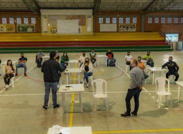 """""""Lo que se viene es muy positivo"""": Deportistas de La Ceja tras reunión con el Gerente de Indeportes Antioquia"""