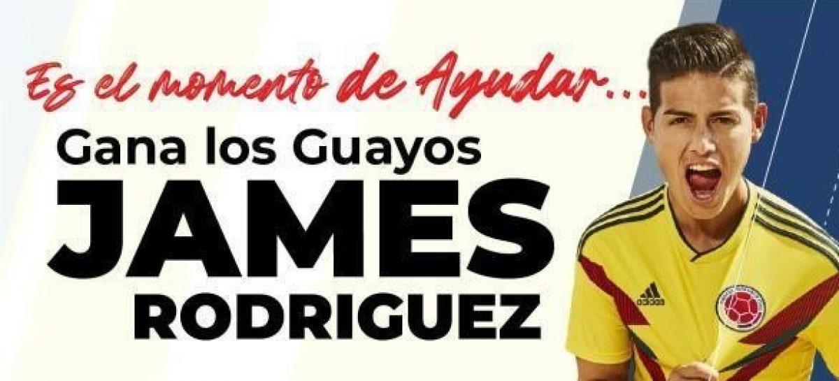 Selección Colombia de Futsal rifa los guayos de James Rodríguez para ayudar a jugadores y entrenadores