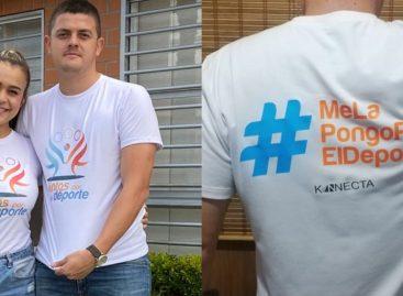 """""""Me la pongo por el deporte"""": la campaña para apoyar a los clubes deportivos de Rionegro"""