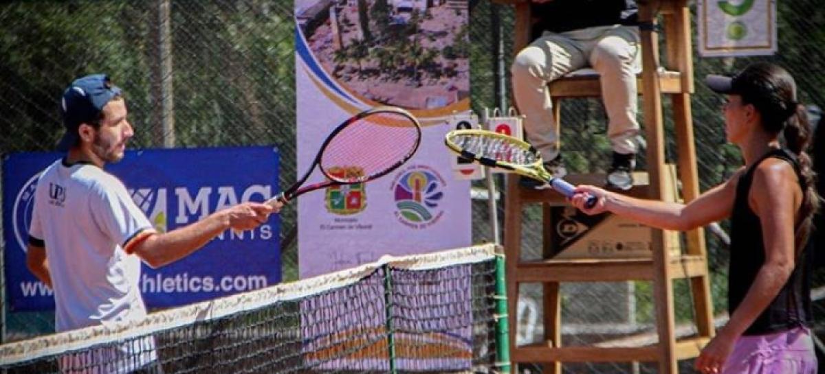 Con un importante torneo, el tenis de campo regresó a El Carmen de Viboral