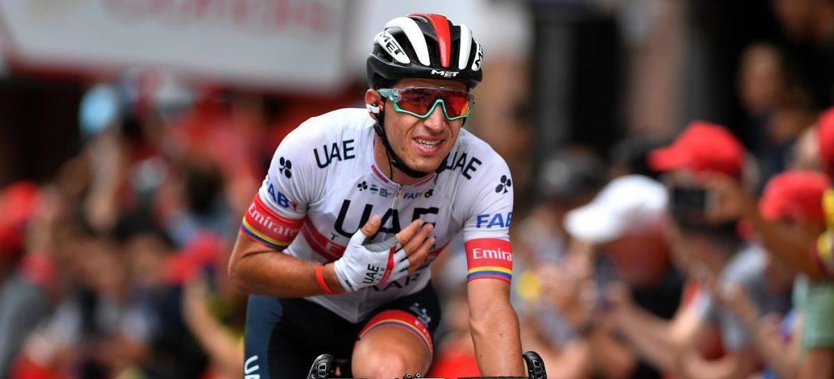Sergio Luis Henao está preseleccionado por el UAE Team Emirates para correr el Giro de Italia