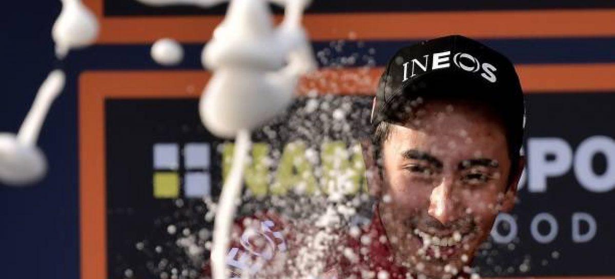 El colombiano Iván Ramiro Sosa ganó la última etapa de la Vuelta a Burgos