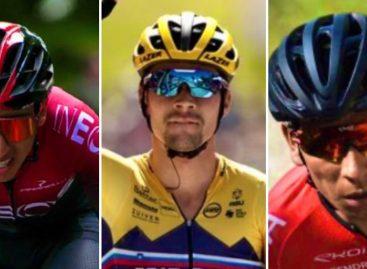 ¡Doble podio! Egan Bernal y Nairo Quintana, entre los tres mejores del Tour de l'Ain