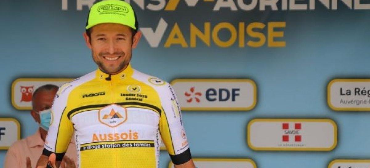 Leonardo Páez se coronó campeón de la Transmaurienne Vanoise en Francia