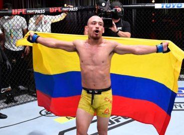 El colombiano Danny Chávez debutó con victoria en la UFC