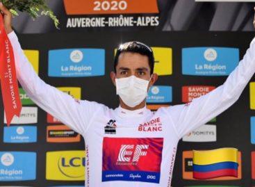 ¡Atención! El colombiano Daniel Martínez se coronó campeón del Critérium du  Dauphiné